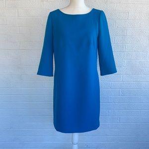 Ann Taylor Peacock Blue Dress - 6